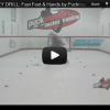 Quick Feet Hockey Drill