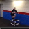 Hockey Training: 1 legged Squats