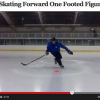 Hockey Edge Work: One Footed Figure 8s