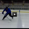 Stick Handling Skills – Flipping Puck Over Blueline Forehand and Backhand