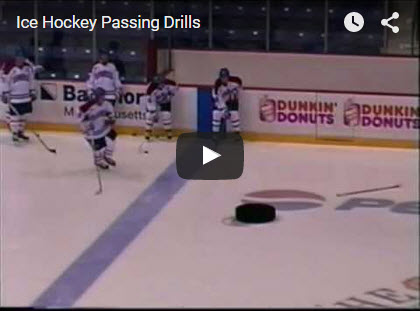 Hockey Passing Drills
