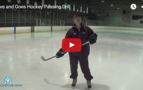 Hockey Passing Give and Go