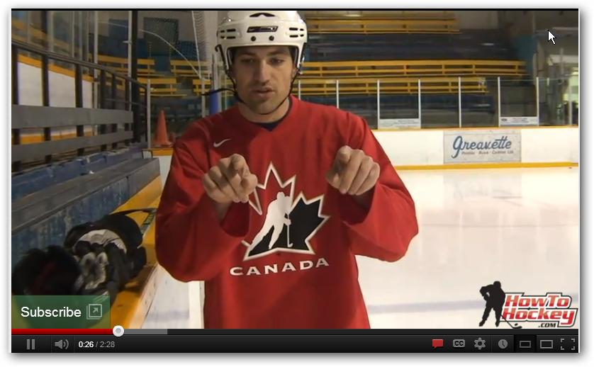 hockey stopping for beginners