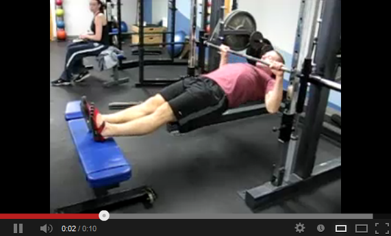 inverted row
