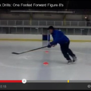 Hockey Edge Work - One Footed Figure 8's
