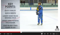 Quick Feet and Hands Hockey Drills