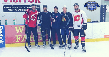 Prodigy Hockey John Moore, Brandon Pirri, Brian Keane, Patrick Kane, Brandon Bollig