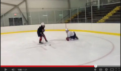 Reactionary Stick Handling Development Drills