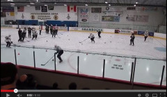 Boston Bruins Backwards Skating Drill