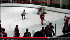 Detriot Red Wings Puck Protection Drill