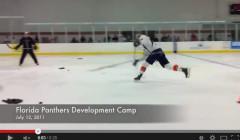 Erik Gudbranson Defensive Shooting Drill