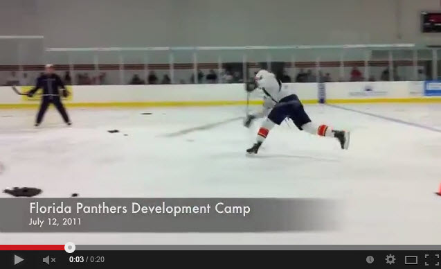 Erik Gudbranson Defensive Shooting Drill