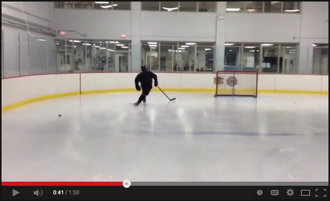 Hockey Skating Crossover Development Drill