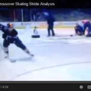 Andew Cogliano cross over skating analysis