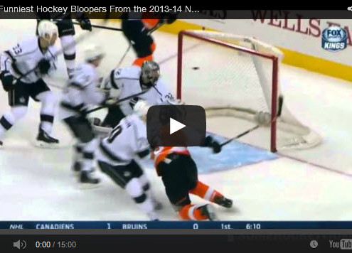 2013 - 2014 Hockey Bloopers