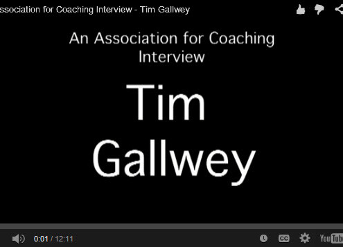 Timothy Gallwey, the inner game of tennis, Sports psychology