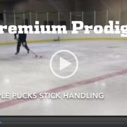 Multiple Puck Stick Handling