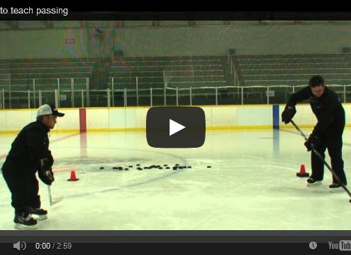 Great drills for teaching hockey passing