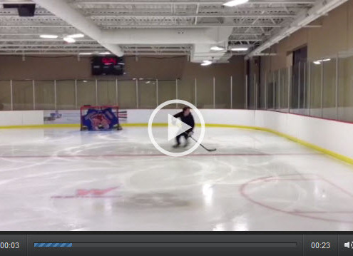 Slalom Hockey Edge Work Drill