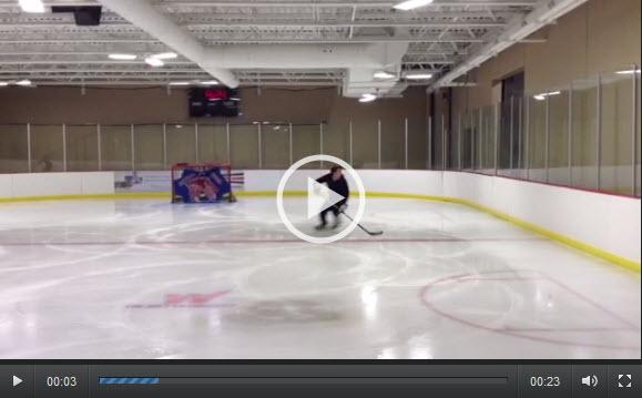Slalom Hockey Edge Work Drill