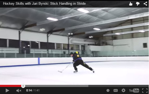 Jari Byrski Stick Handling in Stride Development