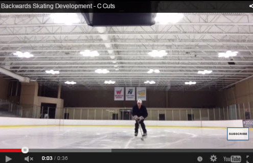 Backwards Skating Development Drills - C Cuts