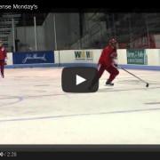 College Level Defensive Skating Drills