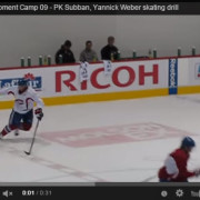 Montreal Canadians Development Camp 1 Footed Edgwork