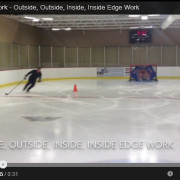 Outside, outside, inside, inside edge work