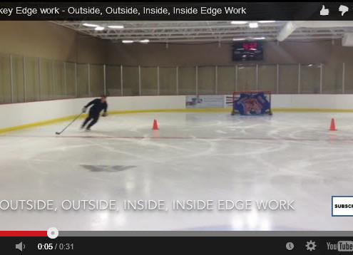 Outside, outside, inside, inside edge work