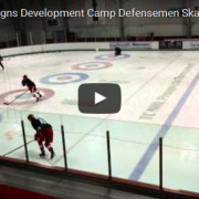Defensive Skating Drill - Open Hip Extension