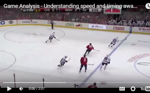 Understanding time and space in hockey