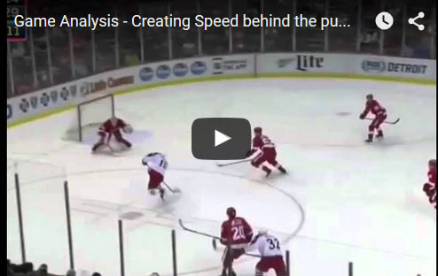 Creating Speed Behind The Puck