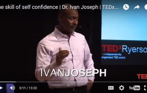 Developing the skill of self confidence