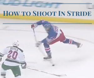 How to shoot in stride