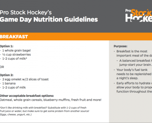 PRO STOCK NUTRITIONAL GUIDE