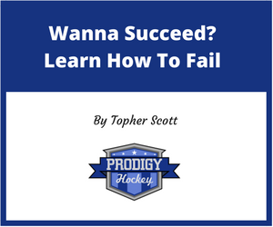 Wanna succeed- learn how to fail