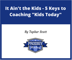 5 Keys to coaching kids